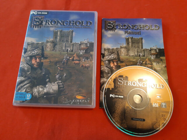 STRONGHOLD PC CD-ROM PAL COMPLET VF