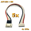 5x-Lipo-Balancerkabel-Adapter-4S-5Pin-JST-XH-auf-EH-Kokam-Hyperion-Graupner-RC Indexbild 1