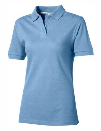 Slazenger Damen Poloshirt Polohemd FOREHAND LADIES POLO Kurzarm Neu 33S03