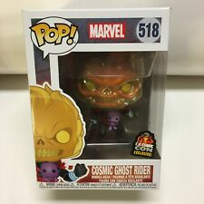 Funko Pop Marvel Cosmic Ghost Rider Special Edition #518 Free Pop Protector
