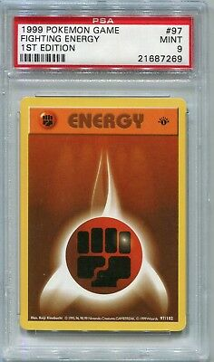 Pokemon Base Set 1st Edition Shadowless Energy Removal 92//102 PSA 9