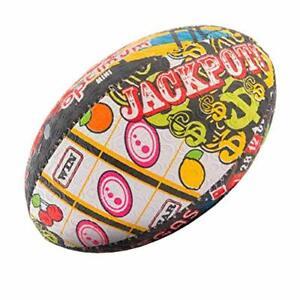 OPTIMUM Herren Las Vegas Rugby Ball Mehrfarbig Größe 3