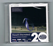 WARP20 (RECREATED) - 2 CD SET - 21 TITRES - NEUF NEW NEU
