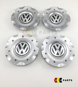 New-genuine-vw-golf-gt-MK5-classixs-17-034-4-cabochon-roue-alliage-set-1K0601149J