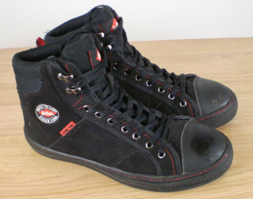 Unisex Hi Top Style Safety Boots Lee Cooper UK Size 5 Steel Toe Cap