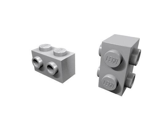 LEGO Bogenstein Schrägstein 1x3 Noppen 50950 Farbauswahl g