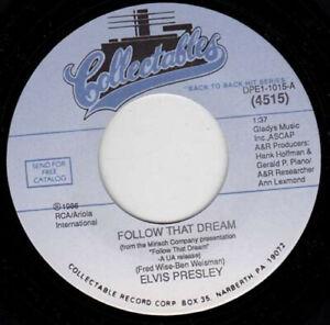 "ELVIS PRESLEY - Follow That Dream 7"" 45"