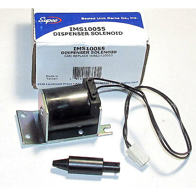 WR62X10055  IMS10055 for GE Refrigerator Dispenser Solenoid Coil PS1483583