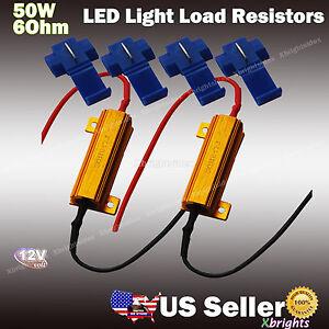 2pcs-Load-Resistor-Fix-LED-Bulb-Fast-Flash-Turn-Signal-Blink-OBC-No-Error