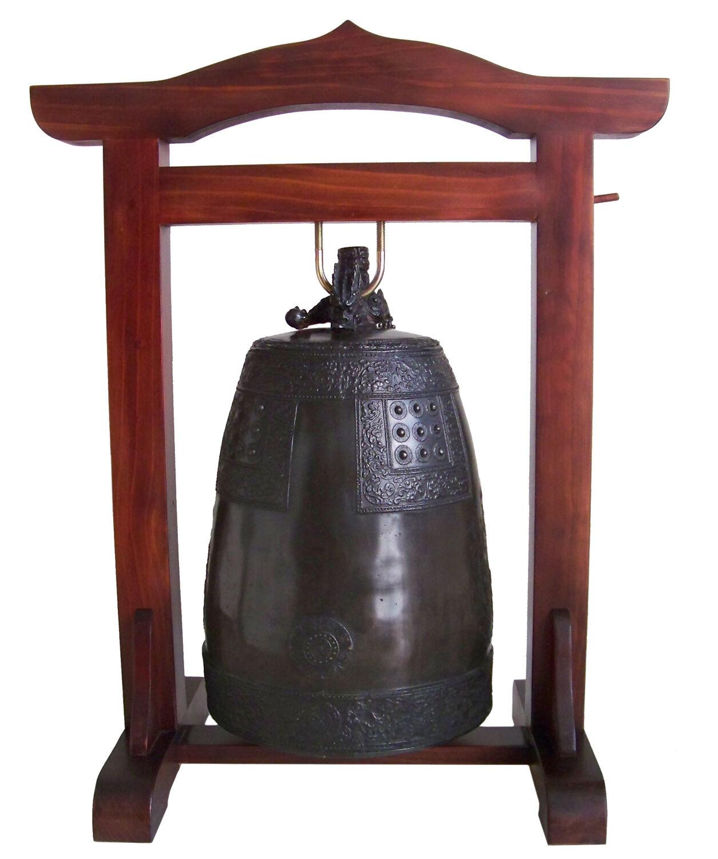 Large Buddhist Temple Bell  BUMJONG    Bronze Temple Bell, Zen Bell 5K-03