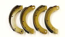 Un conjunto de 4 Zapatos de Freno Trasero Para Humber Súper Snipe 1958 - 1966