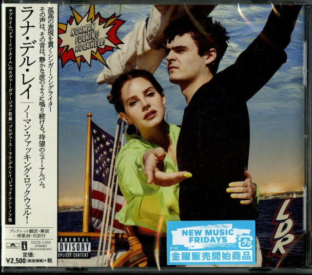 2019 Japan Cd Lana Del Rey Norman Fucking Rockwell For Sale Online Ebay