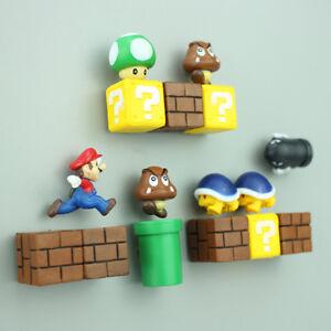 Classic-3D-Super-Mario-Fridge-Strong-Refrigerator-Magnet-Stickers-DecoratioBLUS