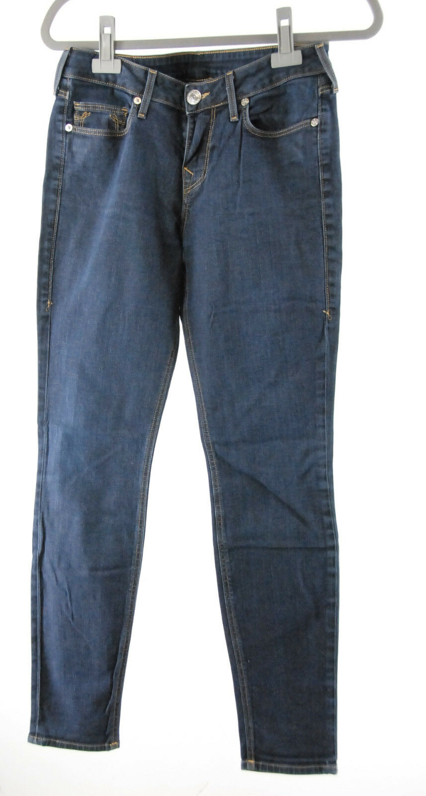 True Relgion Jeans blau W 29 stretch Hose wie neu