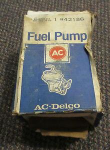42186-NEW-NOS-AC-Delco-Mechanical-Fuel-Pump-6472184-84-85-S10-RWD-2-8L-V6-M60404