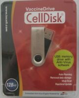 Celldisk 128mb Usb Memory Drive With Anti-virus Software