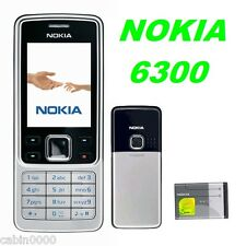 BRAND NEW,GENUINE NOKIA 6300 - SILVER UNLOCKED MOBILE PHONE BLUETOOTH WARRANTY