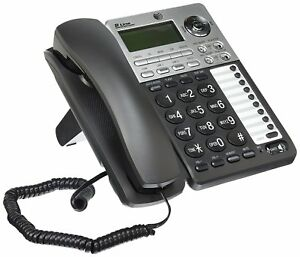 AT-amp-T-ML17939-2-Line-Corded-Telephone-with-Digital-Answering-System-and-Caller-ID