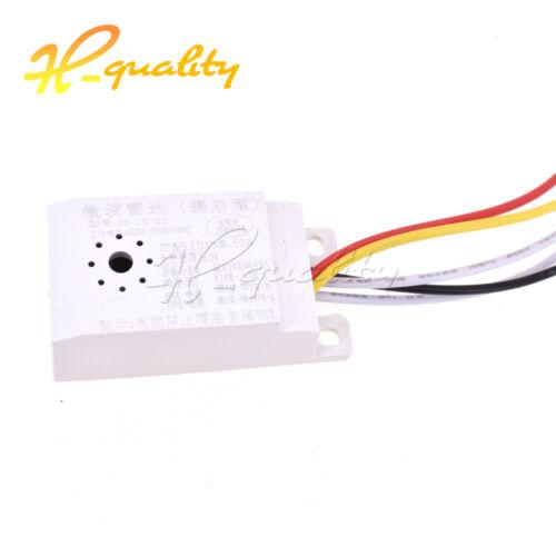 Infrared Body Motion Radar Sensor Sensing Switch Microwave Detector AC85V-265