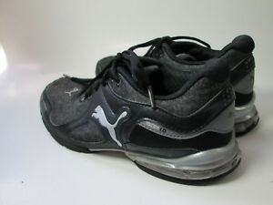 Puma Riaz 10 Cell 1.0 Womens Black   Gray Athletic Shoes Size 6.5  539e9d8df