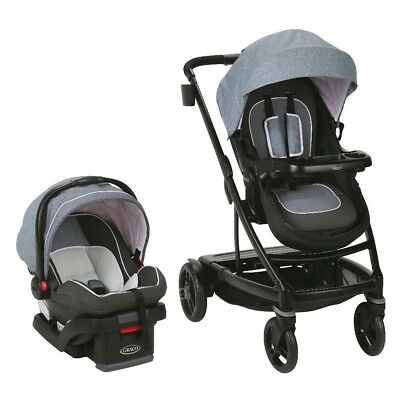 MATCHING SECOND SEAT GRACO UNO2DUO TRAVEL SYSTEM W SNUGLOCK STROLLER HAZEL