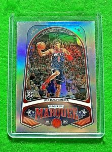 RUI-HACHIMURA-PRIZM-SILVER-ROOKIE-CARD-WIZARDS-2019-20-CHRONICLES-MARQUEE-PRIZM