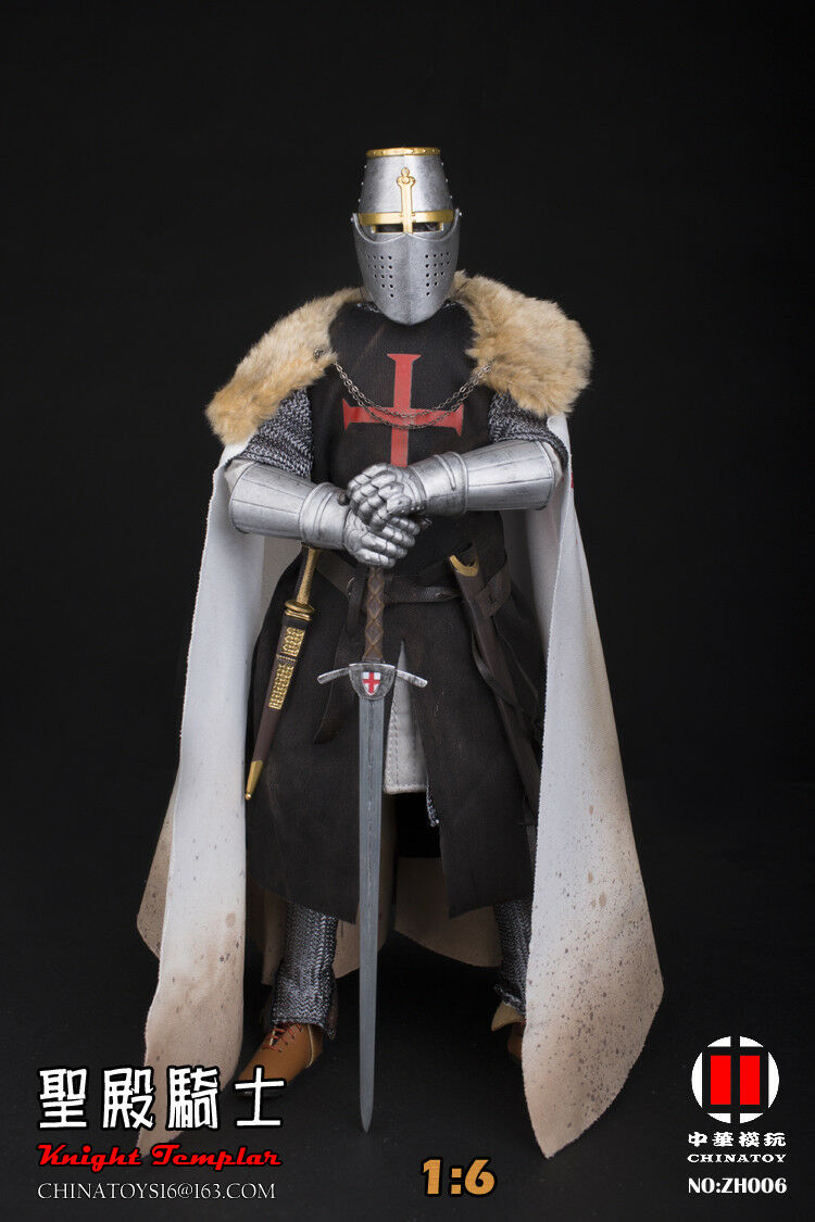 NEW Warriors KNIGHT Ordre du Temple 1 6 Figure in stock