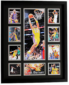 New Kobe Bryant Signed LA Lakers Limited Edition  Framed