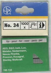 Lux No 33//12 mm.. LUX NOVUS etc KWB 1000 pièces