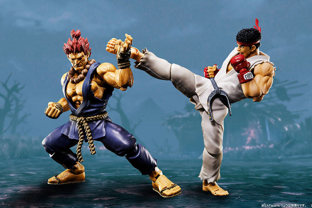 Street Fighter Akuma S.H. SH Figuarts Action Figure BANDAI BANDAI BANDAI 33d163