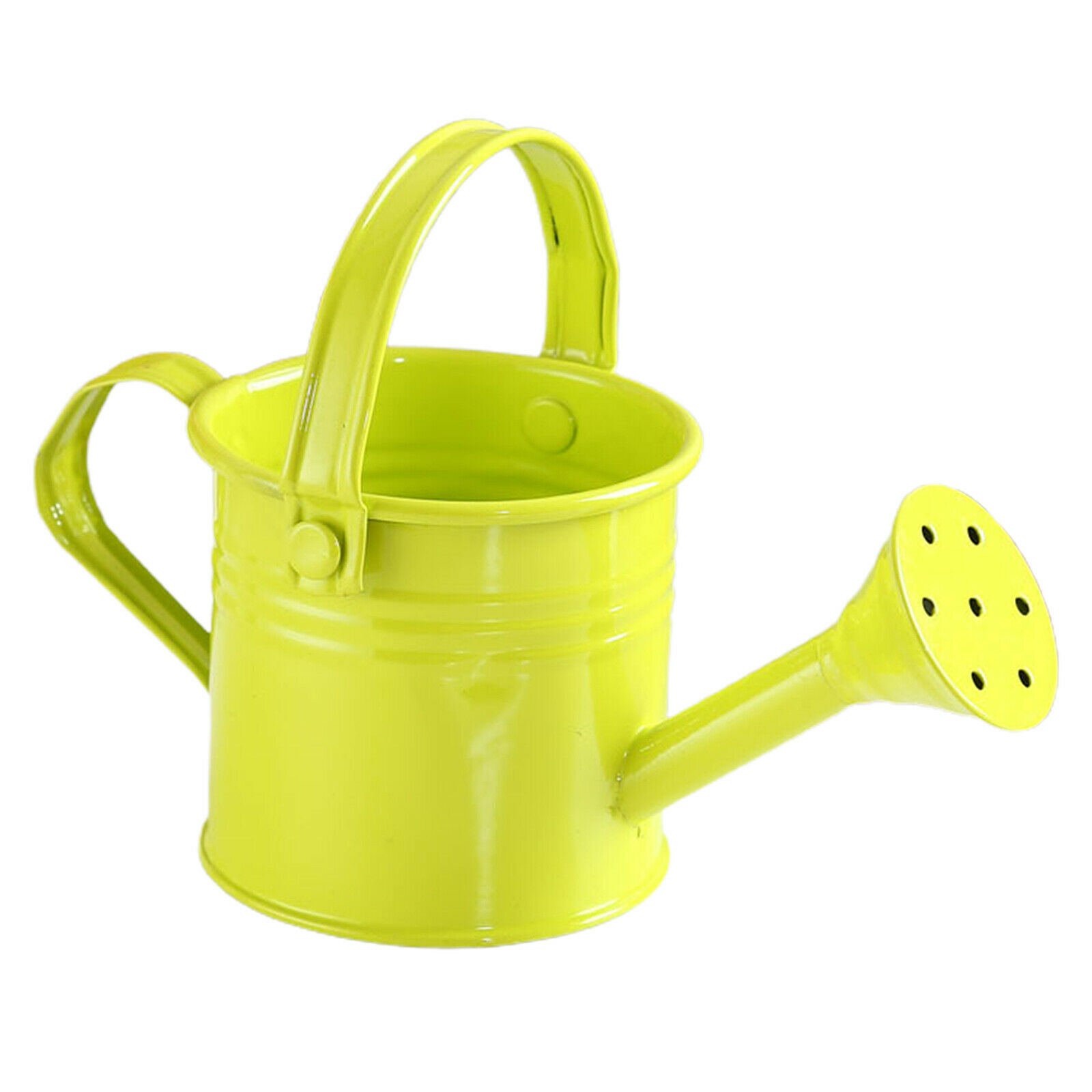 Tin Watering Can Spray Bottle Metal Sprinkled With Handle Gardening Tools Shower