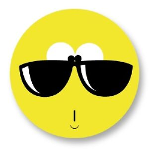 Pin Button Badge Ø38mm Smiley Face Smile Smiling Emo Emoticones Happy Face Speldjes
