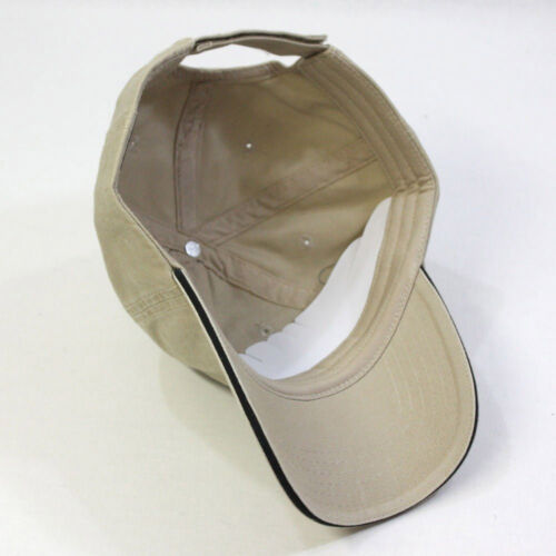 VintageYear Premium Edge Cotton Sandwich Visor Adjustable Baseball Cap