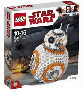 LEGO Star Wars BB-8 2017 (75187) Brand New and Boxed