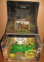 John Deere Bw Tractor Umbrella 1/16 Ertl Toy 200th Birthday Limited Edition 2004