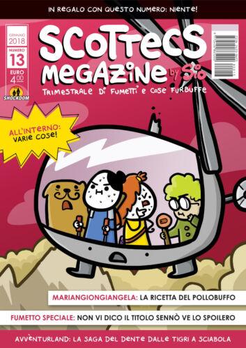 Shockdom Scottecs Megazine N° 13 Sio ITALIANO NUOVO #NSF3