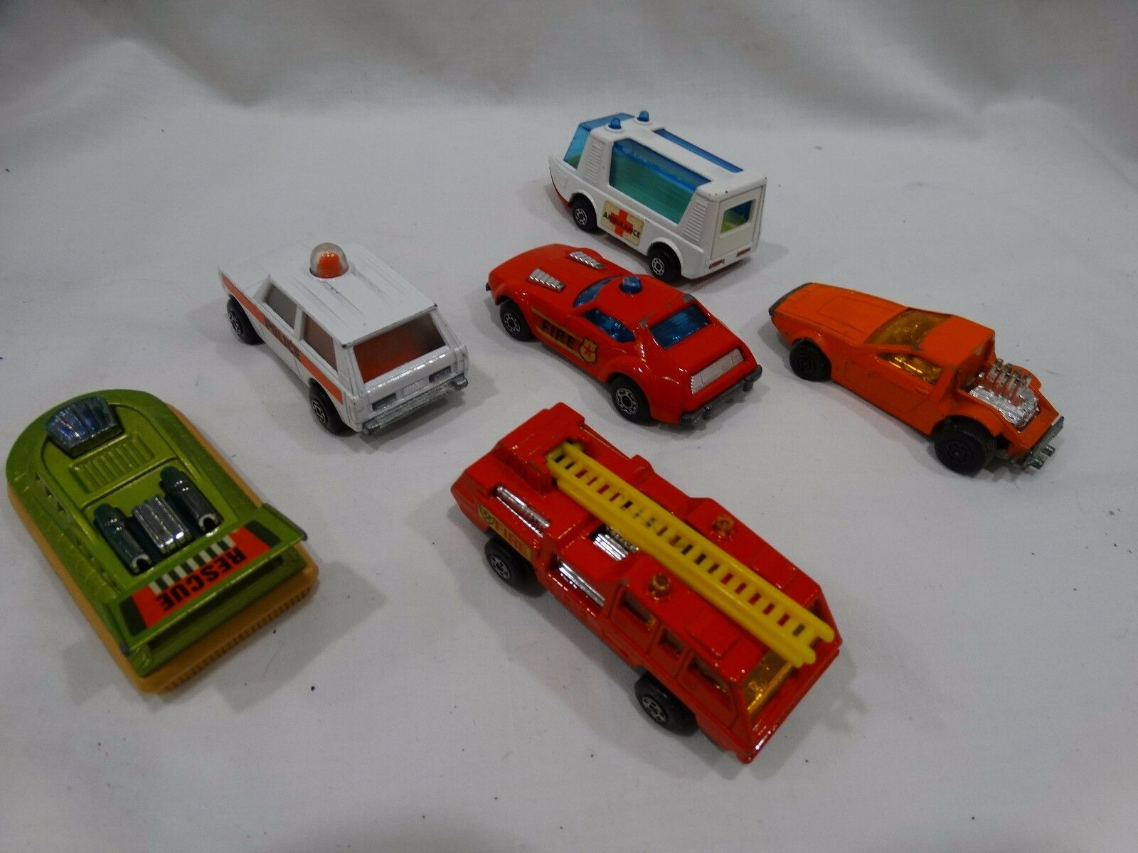 spedizione veloce in tutto il mondo Lesney Matchscatola Supefast & Rolomatics Rolomatics Rolomatics Lot of 6 Die-Cast Vintage autos  acquista online oggi