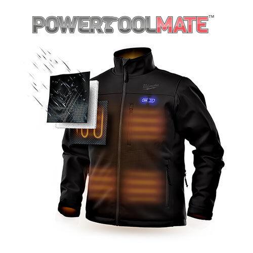201 riscaldata Giacca Caricabatterie M12hjbl3 grande termica nera M12b2 Milwaukee 1xU7wBq5