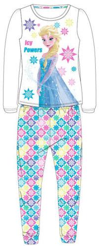 Girls DISNEY FROZEN Long Sleeve Pyjamas Set Official 4-9 yrs