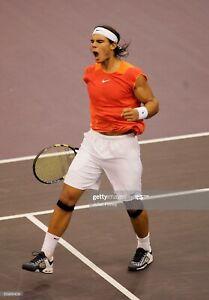 Rare 2005 Madrid Nike Rafael Nadal Sphere Tennis Sleeveless Shirt Rafa Medium Ebay