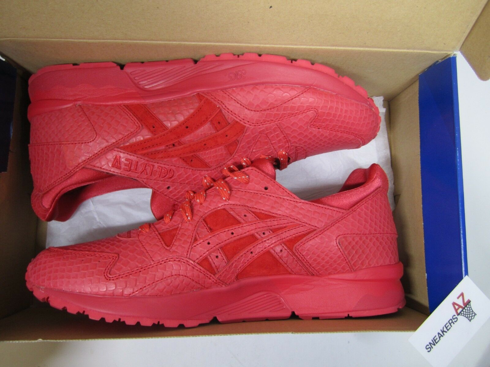 Asics Gel Lyte V 5 Red Mamba Snake DS New Size 12 H51EK-2727 + Receipt