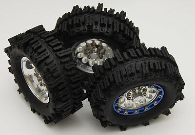 RC 4WD Z-T0050 Mud Slinger 1.9 Tires (2)