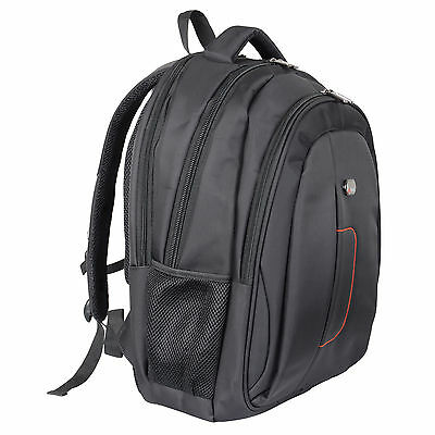 Black City Laptop Backpack Rucksack Bagpack Business Work Travel Bag 27 Litres