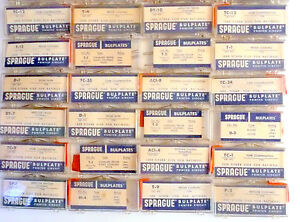 Details about New Old Stock * Sprague RESTISANCE CAPACITOR NETWORK RCN DEAL  #1 - 40 pieces $75