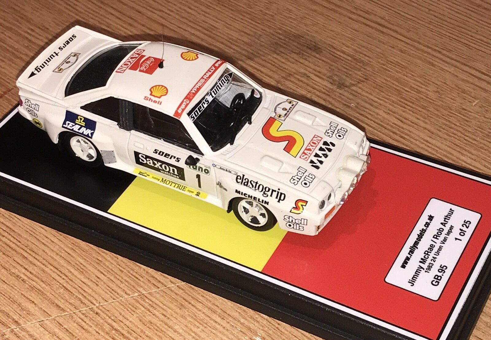 1/43 Vitesse OPEL MANTA 400 JIMMY McRae Ypres Rally 1983 code 3 Groupe B | Expédition Rapide