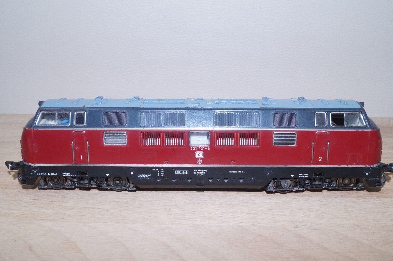 Fleischmann 4235 Diesel-Lok delle BR 221 131-6 delle DB analogico