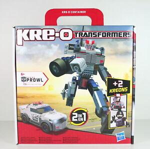 TRANSFORMERS-police-car-PROWL-construction-KRE-O-toy-robot-kreo-bricks-NEW