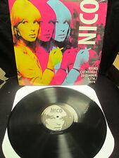 NICO - Vinyl Reims Cathedral France Dec.13,1974 LP Velvet Underground,Lou Reed