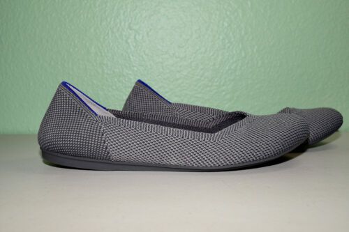 Rothys Round Toe The Flat Size 8 Gray