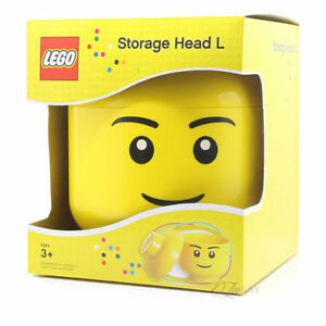 Image Is Loading LEGO STORAGE HEAD LARGE BOYS BRAND NEW IN